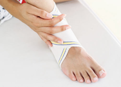 Sprained ankle…now what?