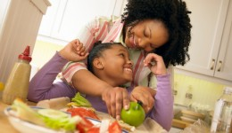 Fighting childhood obesity is a family affair