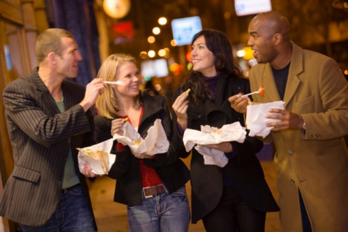 Are Americans eating less fast food?