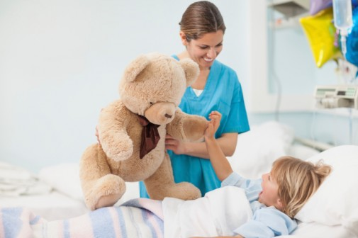 Child life specialists make play their work