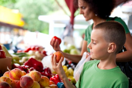 Get to know your food at the farmers' market