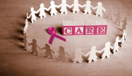 Being social may help ease pain of breast cancer