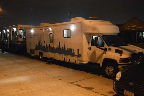 Each month, the Dental Van teams with the Night Ministry, serving some of Chicago's most underserved neighborhoods.