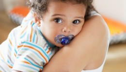 Sharing your baby's binky can be good for their health