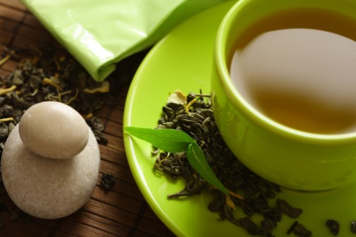 What's in your green tea?