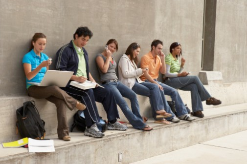 Can cell phone usage make college kids unhealthy?