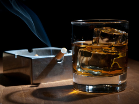 Smoking and drinking a bad combo for mental health, study says