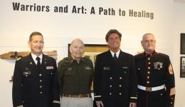 Veterans find healing through art