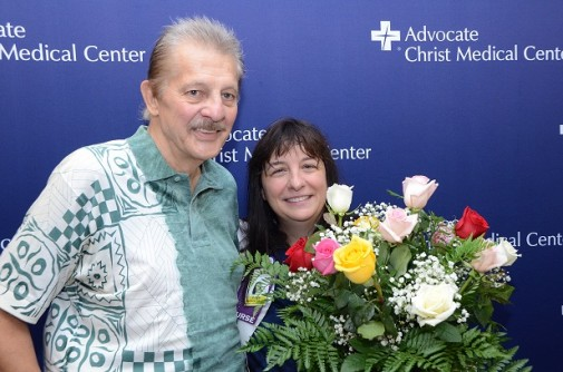 Accident victim gets second chance at life