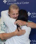 Jack reunites with the nurse who saved his life.