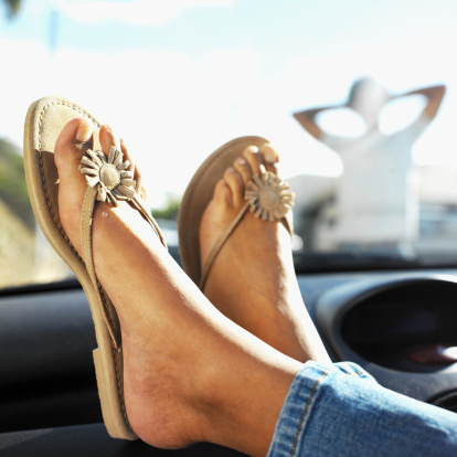 Driving in flip-flops can be deadly