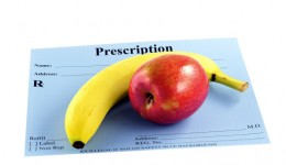 Fighting obesity with a prescription for fruits and veggies?