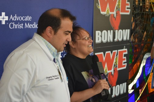 Bon Jovi fan gets new heart