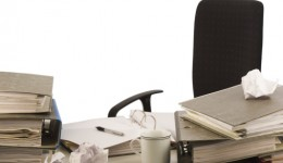 Your messy desk could spark brilliance