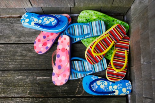 Flip-flop warning: These shoes aren't made for walking