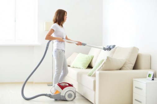 Top 10 calorie burning chores