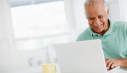 Older web users have better health