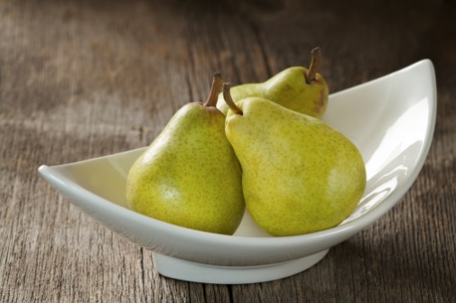 Pear and Cranberry Cast-Iron Crisps