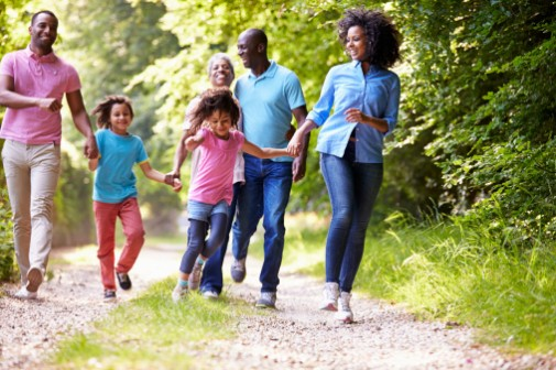 Active moms can lead to active kids