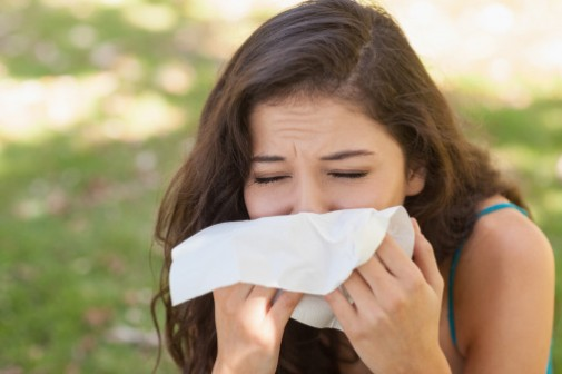 Warm weather awakens allergies
