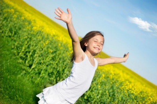 Nature helps develop spirituality in children