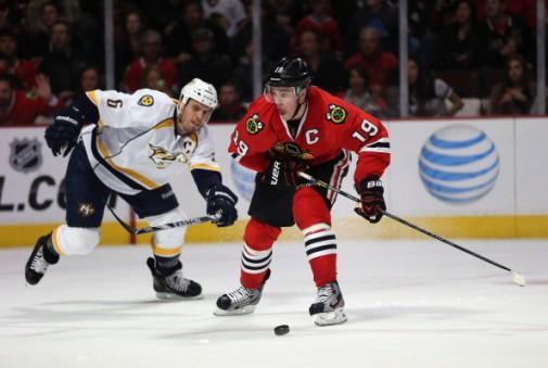 Pro hockey players peak before 30