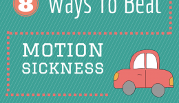 Infographic: 8 ways to beat motion sickness