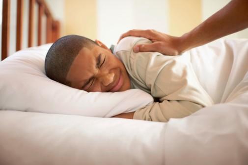 Retrain teen sleeping habits