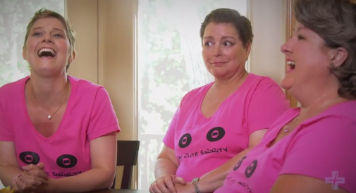Sorority of support born through fight against breast cancer