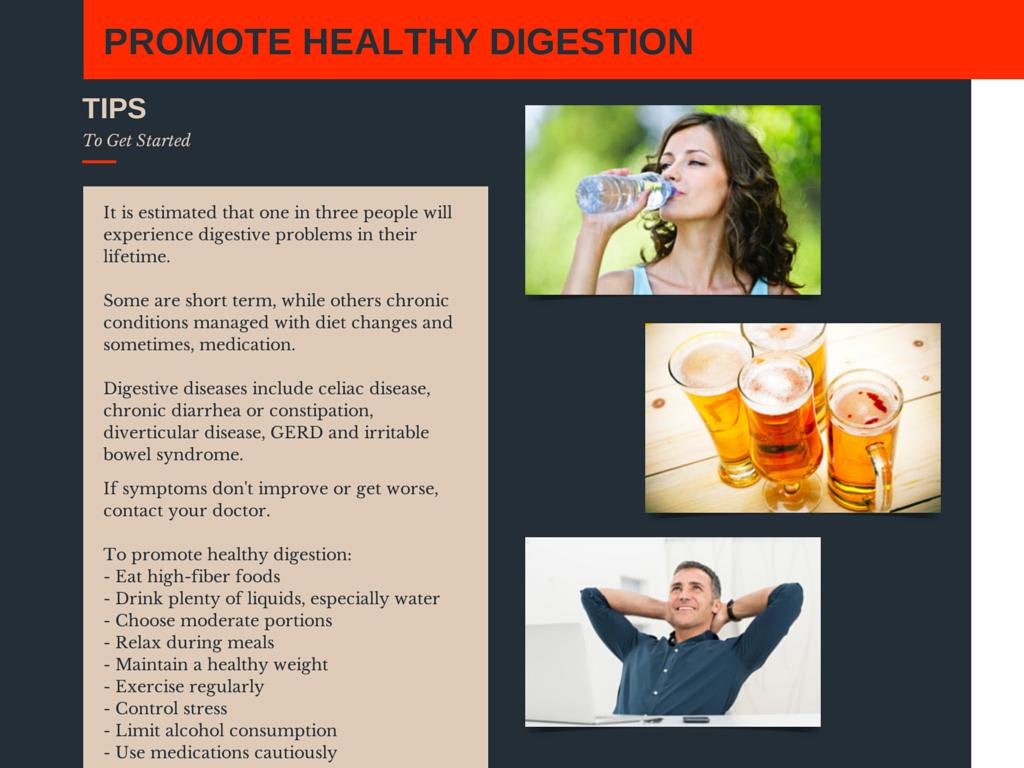 Infographic: Gut-friendly/digestive health