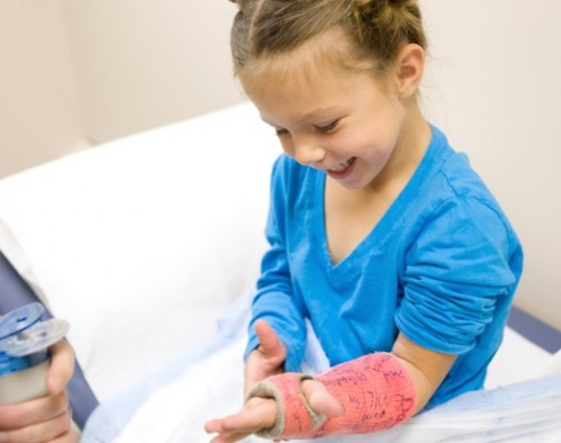 New treatment for childhood broken bones?