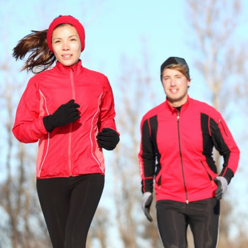 Infographic: What to wear for winter running