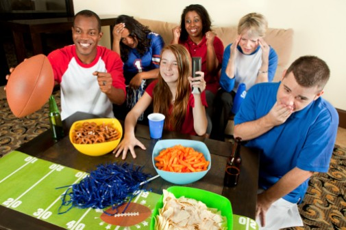 Don't fumble on food safety this Sunday
