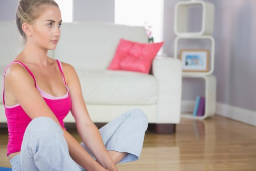 6 minutes of yoga for a better night's sleep