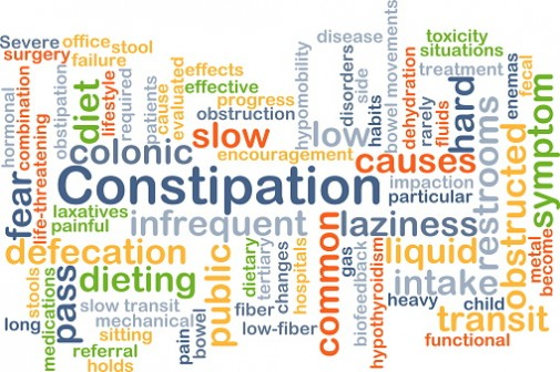 Constipation could lead to serious health problems
