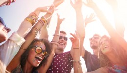 How many calories can you burn at a music festival?