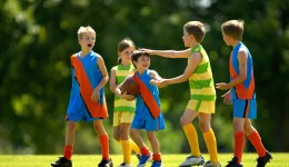 Playing sports can help kids succeed in life