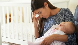 Signs of depression may appear months after childbirth