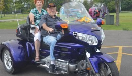 Ankle replacement helps motorcyclist keep riding