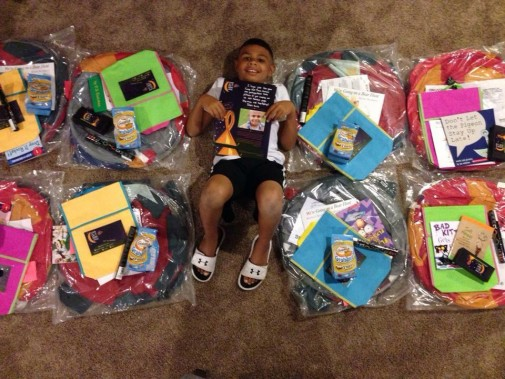 Camping kits boosting spirits for childhood cancer patients