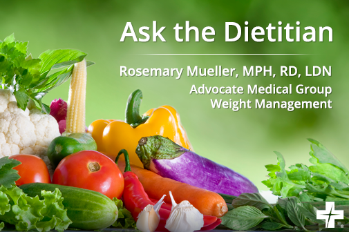 Your 'Ask the Dietitian' questions answered
