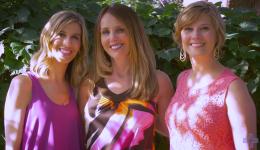 Tina, Jeannine & Aimee – A year later