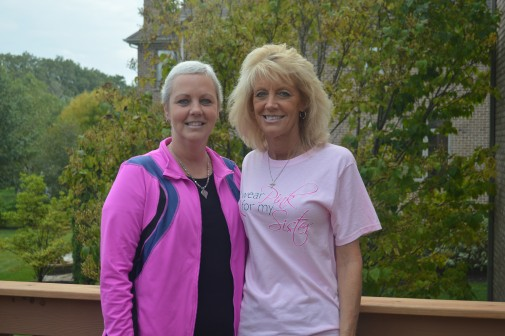 Woman finds strength in numbers after breast cancer diagnosis