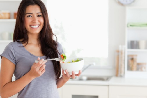 Counting bites while eating may help with weight loss