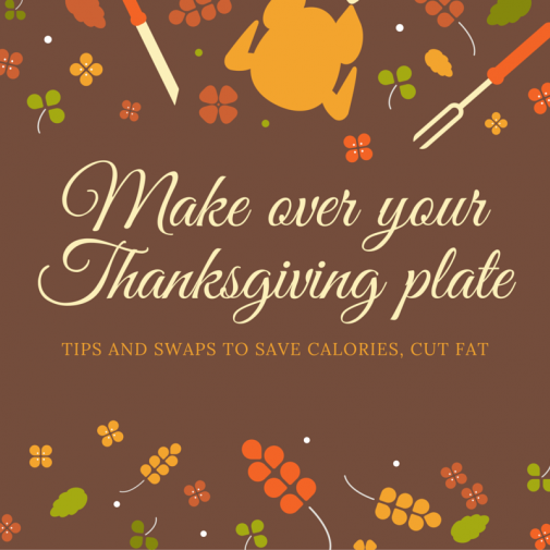 Infographic: Give your Thanksgiving plate a makeover