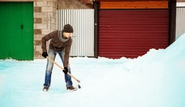 How to shovel snow safely this season