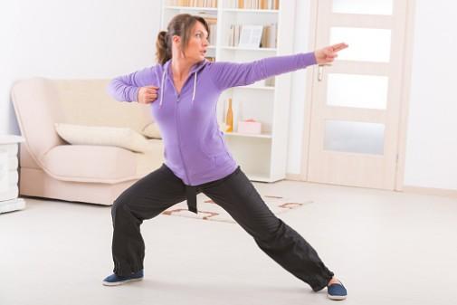 Tai chi can help reduce stress and improve sleep