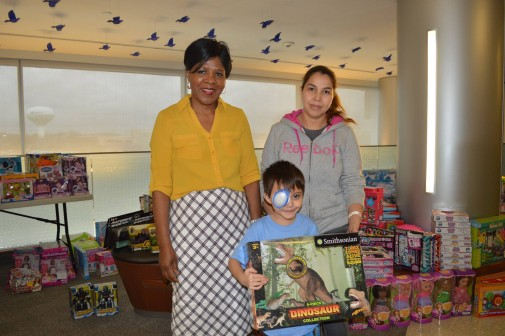 Hospital employee donates thousands of gifts to pediatric patients