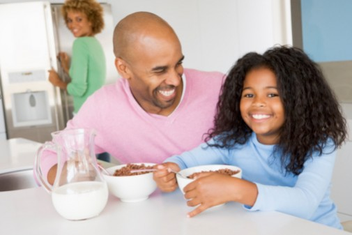 Teaching parents about breakfast boosts children's nutrition, health