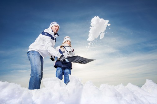 Protect your heart while shoveling